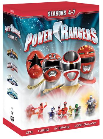 Power Rangers: Seasons 4-7