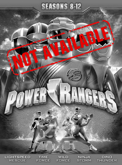 Power Rangers: Seasons 8-12 (SOLD OUT)