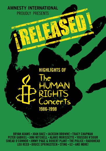 Released!: Highlights Of The Human Rights Concerts 1986-1998