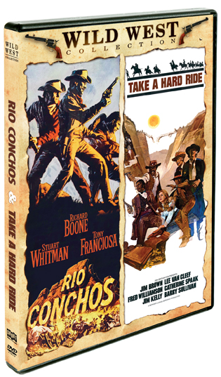 Rio Conchos / Take A Hard Ride [Double Feature]