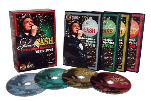 The Johnny Cash Christmas Specials 1976-1979