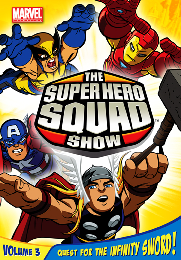 The Super Hero Squad Show: Quest For The Infinity Sword, Vol. 3