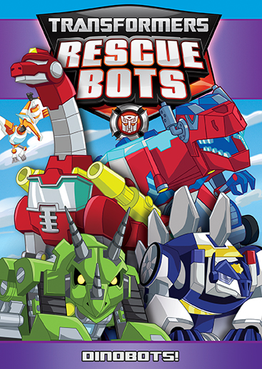 Transformers Rescue Bots: Dinobots! (SOLD OUT)