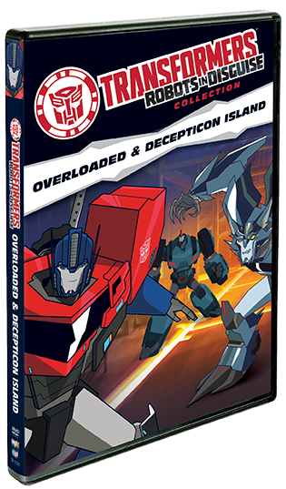 Transformers Robots In Disguise Collection: Overloaded & Decepticon Island
