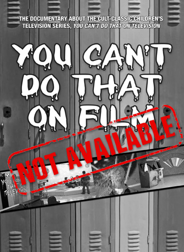 You Can't Do That On Film (SOLD OUT)