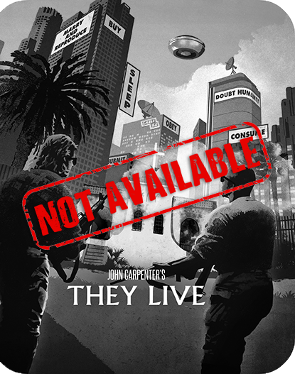 They Live [Limited Edition Steelbook] (SOLD OUT)
