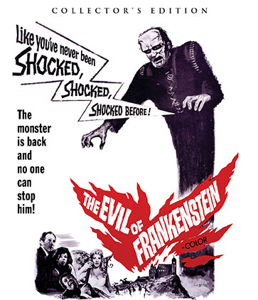 The Evil Of Frankenstein [Collector's Edition]