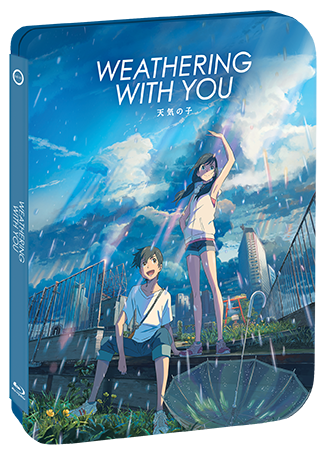 Weathering With You [Limited Edition Steelbook] + Exclusive Lithograph