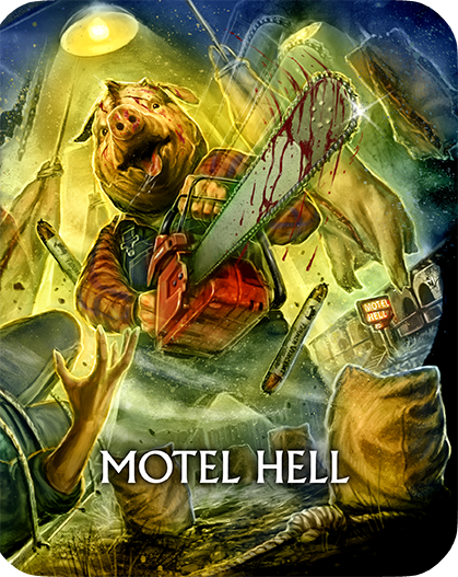 Motel Hell [Limited Edition Steelbook]