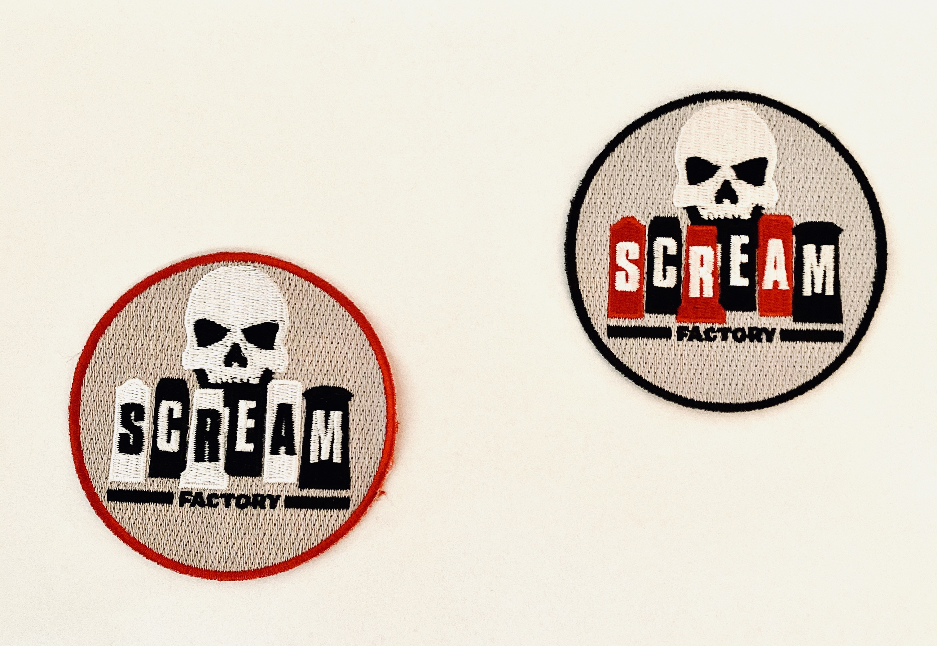 Set Of Two Scream Factory Patches
