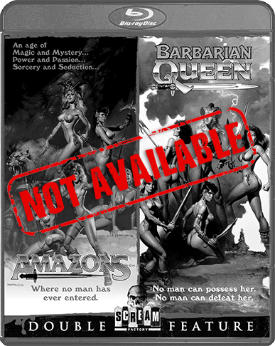 Amazons / Barbarian Queen [Double Feature] (SOLD OUT)
