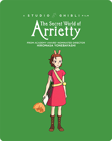 The Secret World Of Arrietty [Limited Edition Steelbook]