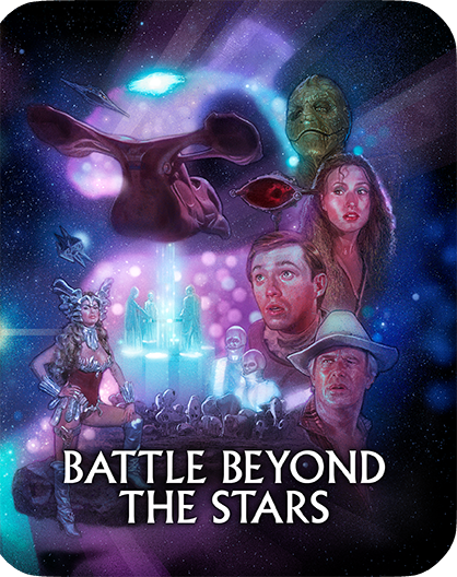Battle Beyond The Stars [Limited Edition Steelbook] + Figure + Lithograph