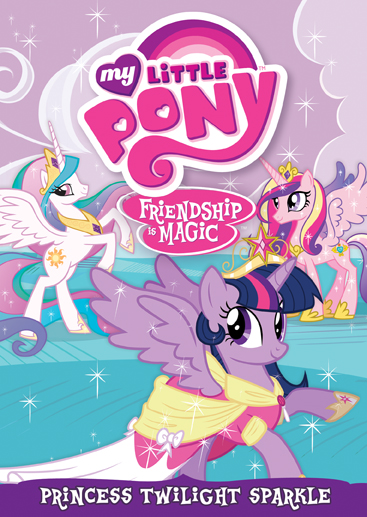 my little pony friendship is magic princess twilight sparkle dvd