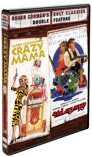 Crazy Mama / The Lady In Red [Double Feature]