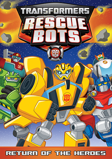 transformers rescue bots return of the heroes dvd shout factory