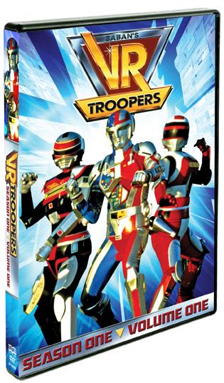 VR Troopers: Season One, Vol. 1