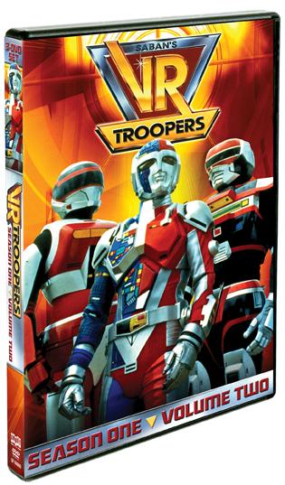 VR Troopers: Season One, Vol. 2