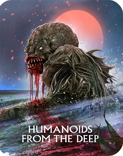 Humanoids From The Deep Limited Edition Steelbook