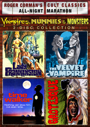 Vampires, Mummies And Monsters Collection [4 Films]