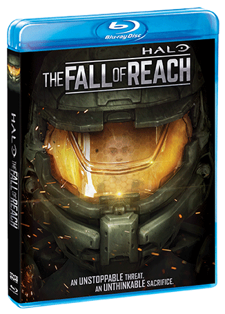 Halo The Fall Of Reach Blu Ray Shout Factory