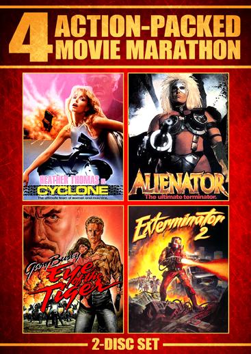 Action-Packed Movie Marathon [4 Films]