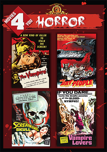 Movies 4 You: Horror [4 Films]