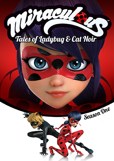 Miraculous Tales Of Ladybug Cat Noir Season One Dvd Shout
