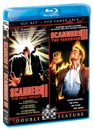 Scanners II: The New Order / Scanners III: The Takeover [Double Feature]
