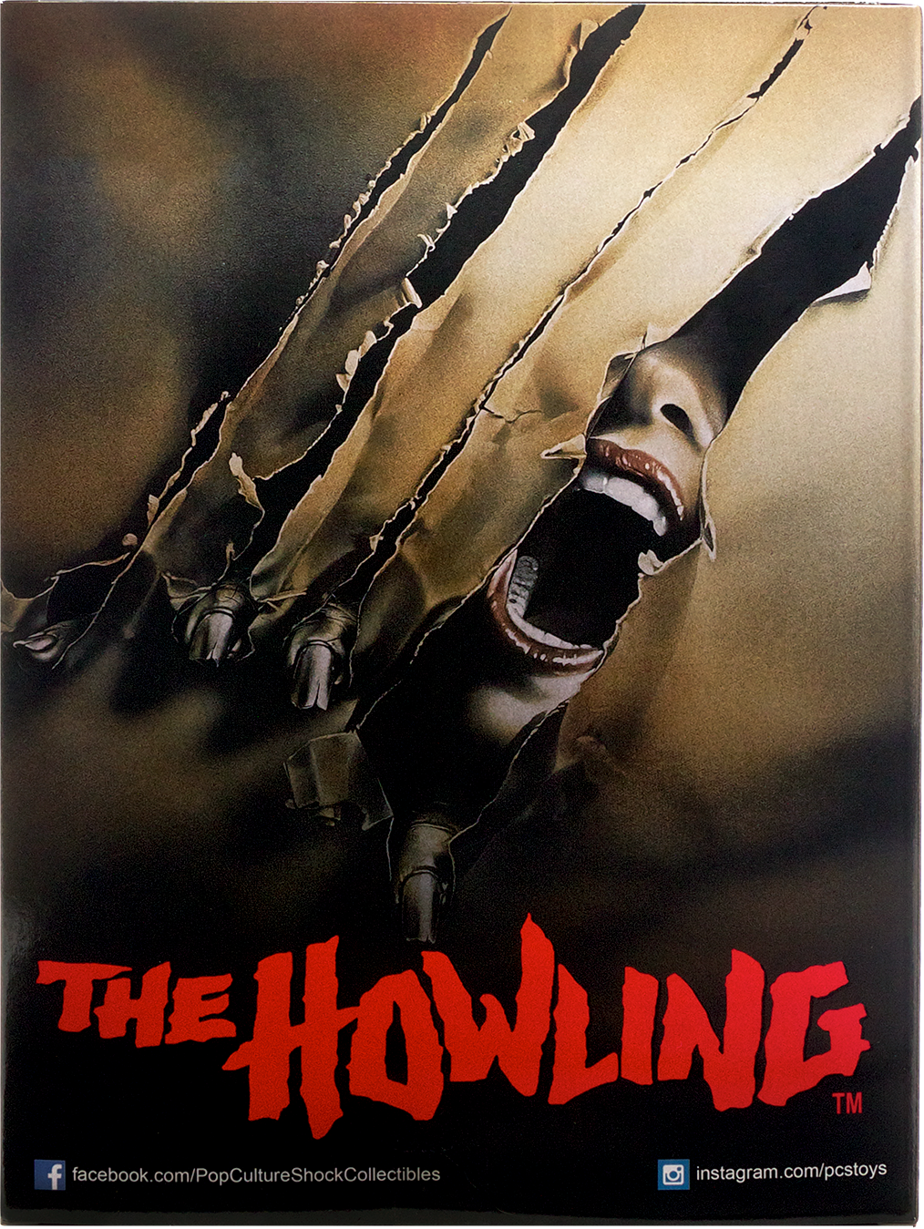 The Howling Statue