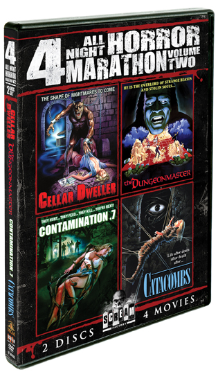 All Night Horror Marathon: Vol. 2 [4 Films]
