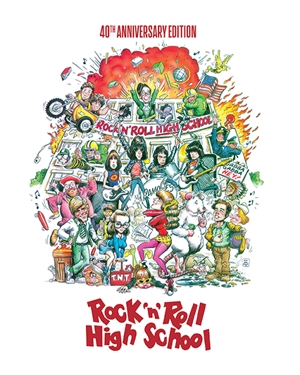 Rock 'N' Roll High School [40th Anniversary Edition Steelbook]