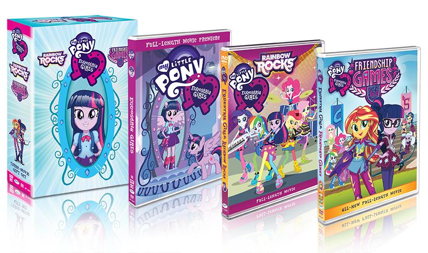 My Little Pony: Equestria Girls [Three-Movie Gift Set]
