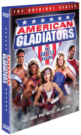American Gladiators The Original Series: The Battle Begins ...