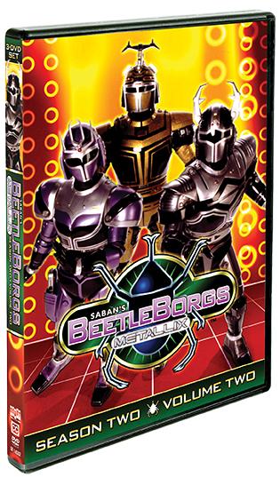 Beetleborgs Metallix: Season Two, Vol. 2
