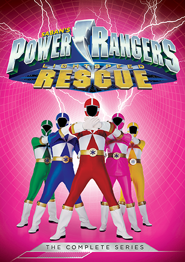 Power Rangers Lightspeed Rescue: The Complete Series
