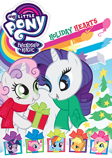 My Little Pony Friendship Is Magic: Holiday Hearts - DVD ...
