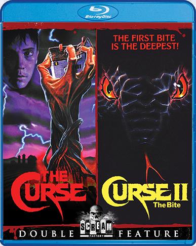 The Curse / Curse II: The Bite [Double Feature]