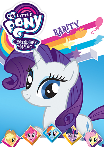 my little pony friendship is magic rarity dvd shout factory