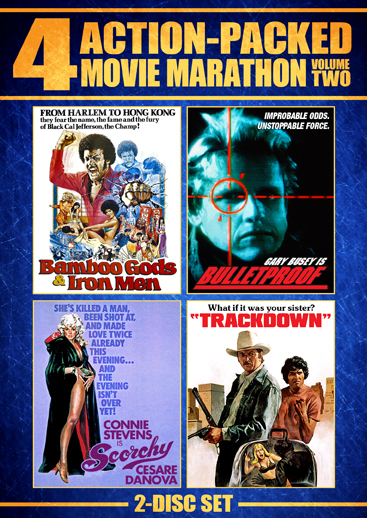 Action-Packed Movie Marathon: Vol. 2 [4 Films]