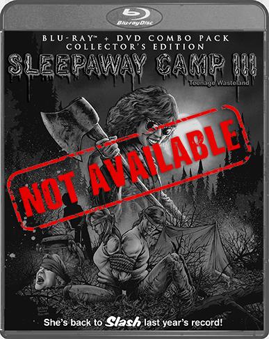Sleepaway Camp III: Teenage Wasteland [Collector's Edition] (SOLD OUT)