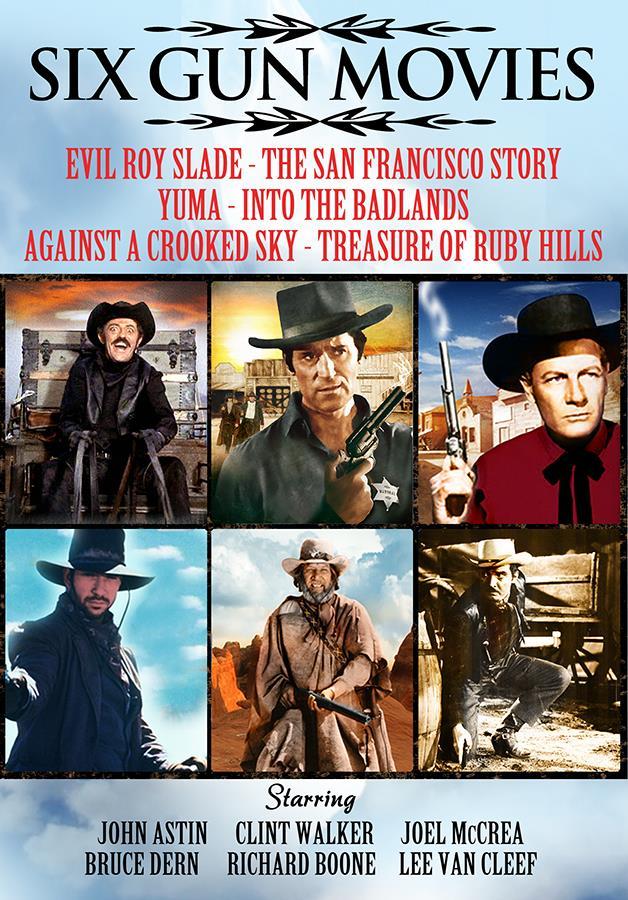 Six Gun Movies [6 Films]