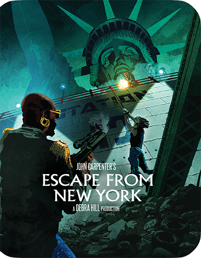 Escape From New York [Limited Edition Steelbook]