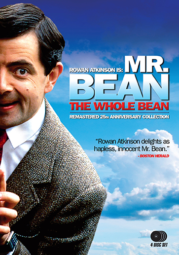 Mr bean the whole bean remastered 25th anniversary collection mr bean the whole bean remastered 25th anniversary collection dvd shout factory solutioingenieria Choice Image