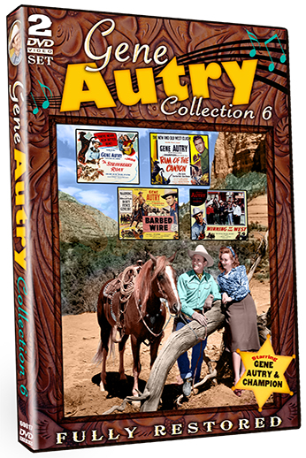 Gene Autry Collection Rovin Tumbleweeds Details