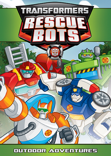transformers rescue bots outdoor adventures dvd shout factory