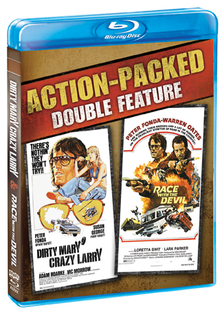 Dirty Mary Crazy Larry / Race With The Devil [Double Feature]