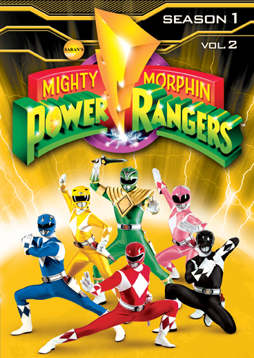 Mighty Morphin Power Rangers: Season One, Vol. 2