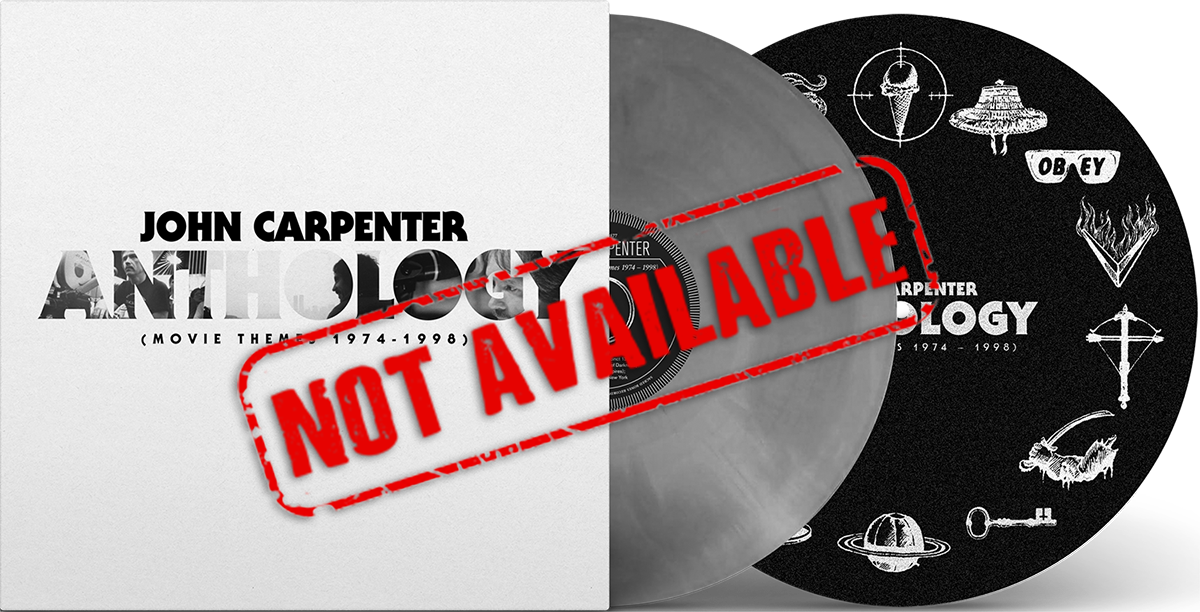 John Carpenter Anthology: Movie Themes 1974-1998 (Signed By John Carpenter) With Exclusive Slipmat (SOLD OUT)