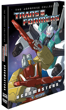 Transformers: The Japanese Collection – Headmasters